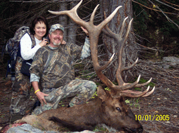 Trophy bull elk hunts in Utah