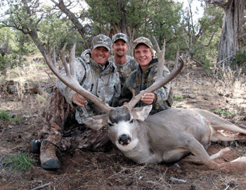 Trophy mule deer hunts in Utah